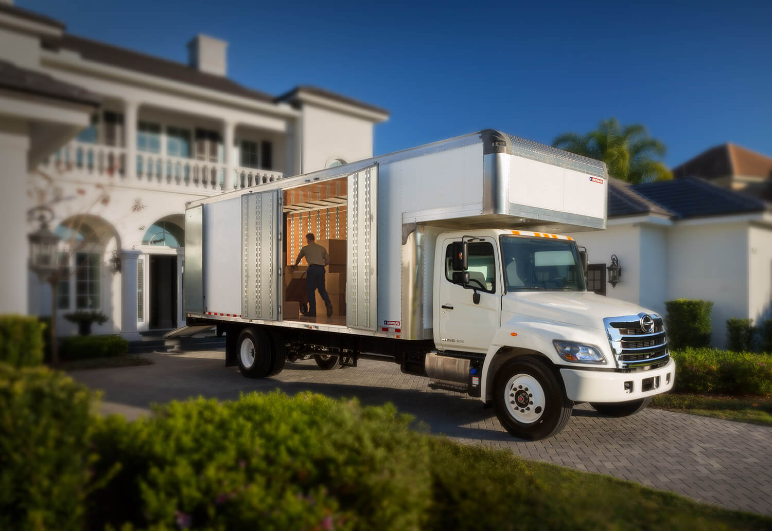 Morgan Furniture Mover truck body authorized dealer in providence RI