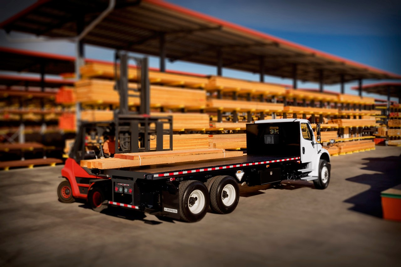 Morgan ProStake flatbed truck body authorized dealer in providence RI